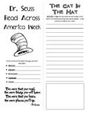 Dr. Seuss - Read Across America Week