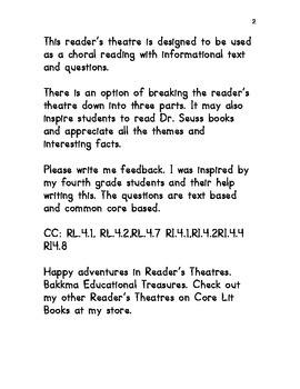 Dr. Seuss Reader's Theatre