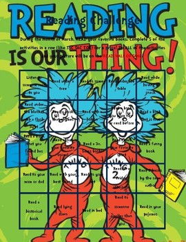 Dr. Seuss Reading Challenge