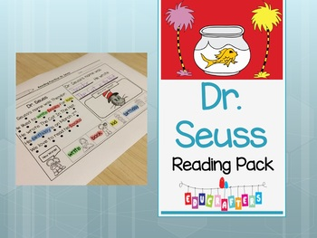 Dr. Seuss Reading Comprehension Fun - Kindergarten