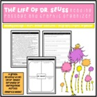 Dr. Seuss Reading Comprehension Passage and Graphic Organizer