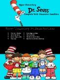 Dr. Seuss Reading Discussion Question Cards
