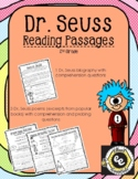 Dr. Seuss Reading Passages