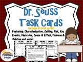 Dr. Suess Close Read Writing Task Card Game Activities and