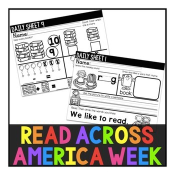 Read Across America Week Packet: Celebrating Reading