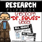 Dr. Seuss Research Biography Flip Book {Read Across America}