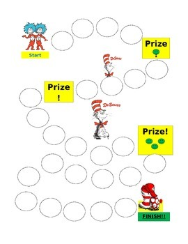 Dr. Seuss Reward Chart