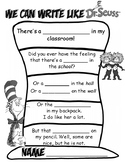 Dr. Seuss Rhyming Hat