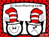 Dr. Seuss Rhyming Cards