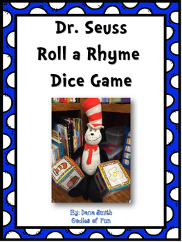 Dr. Seuss Roll a Rhyme Dice Game