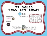 Dr. Seuss Roll and Color
