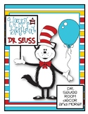 Dr. Seuss Room decor and more!  copywork from his quotes a