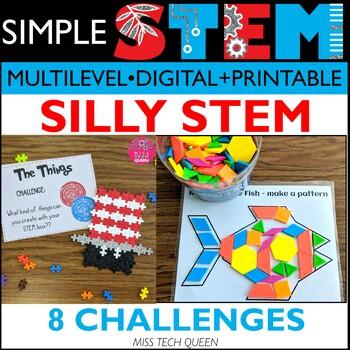 Read Across America Activities - 8 STEM Challenges - Dr. Seuss Inspired