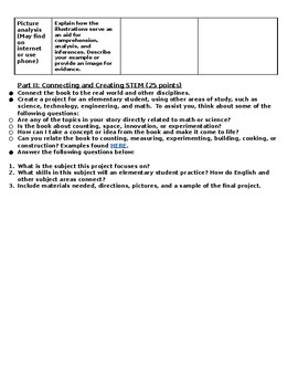 Dr. Seuss STEM Analysis and Assessment