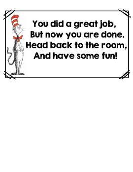Dr. Seuss Scavenger Hunt