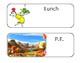 Dr. Seuss Schedule cards and procedures