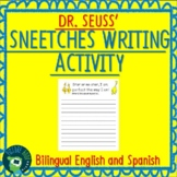 Dr. Seuss Sneetches Writing Activity Bilingual English and
