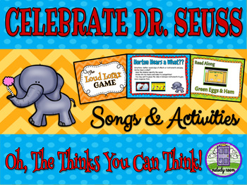 Dr. Seuss Songs & Activities for Music Class