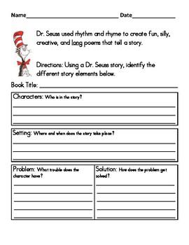 Dr. Seuss Story Elements