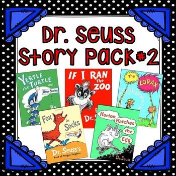 Dr Seuss Story Pack #2