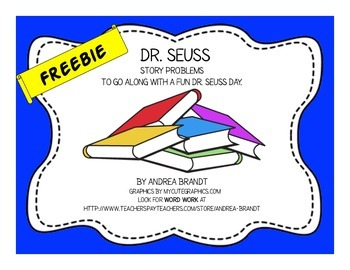 Dr. Seuss Story Problems - Primary Math