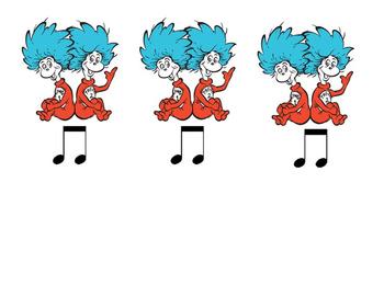 Dr. Seuss Ta and Ti-Ti