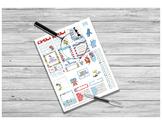 Dr. Seuss Teacher Sticker Printable for HP and EC Teacher