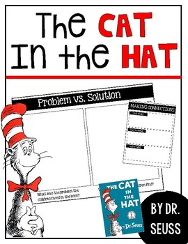 Dr. Seuss // The Cat in The Hat Kindergarten Activity