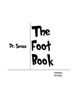 Dr Seuss The Foot Book