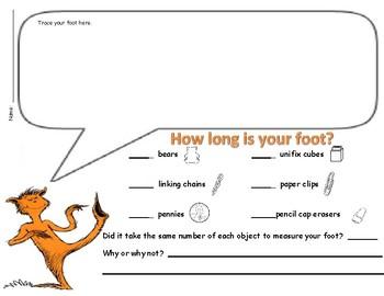 Dr. Seuss The Foot Book - Opposites (Antonyms)