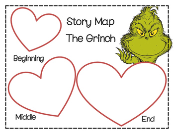 Dr. Seuss: The Grinch Story Map