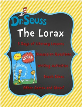 Celebrating Earth Day with Dr. Seuss: The Lorax