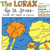 Dr. Seuss' The Lorax Color-By-Parts of Speech Activity