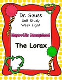 Dr. Seuss The Lorax Unit 8