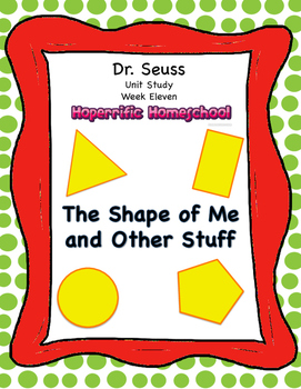 Dr. Seuss The Shape of Me and Other Stuff