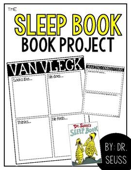 {K} Dr. Seuss - The Sleep Book writing assignment