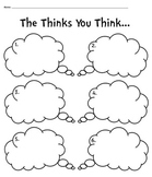 Seuss's The Thinks You Can Think Graphic Organizer