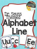 Dr Seuss Theme {Alphabet Line}
