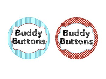 Dr Seuss Theme {Buddy Buttons}
