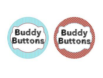 Dr Seuss Theme {Buddy Buttons}