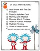 Dr. Seuss Theme Bundle 2
