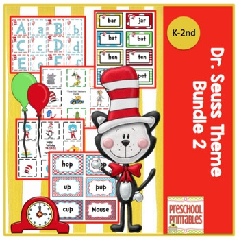 Dr. Seuss Theme Bundle 2