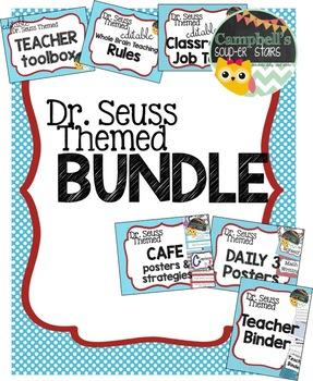 Dr Seuss Theme Bundle