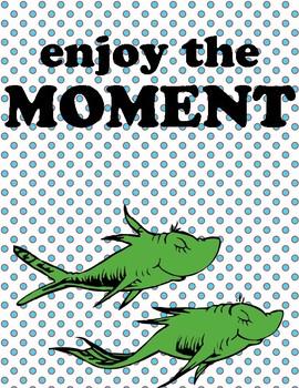 Dr Seuss Theme {Classroom Politeness Posters}
