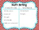 Dr Seuss Theme {Daily 3 Math I-Charts}