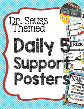 Dr Seuss Theme {Daily 5 support Posters}