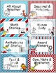 Dr Seuss Theme {Library Labels and Tags}