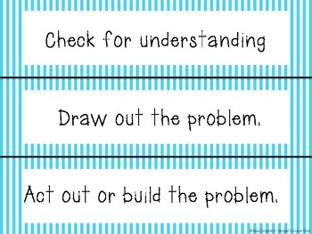 Dr Seuss Theme {Math CAFE Posters and Strategies}