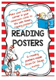 Dr. Seuss Theme Reading Posters