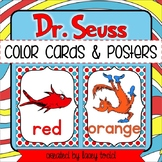 Dr. Seuss-Themed Color Posters & Cards